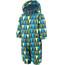 Color Kids Rimah Mini jumpsuit Kinderen groen/blauw